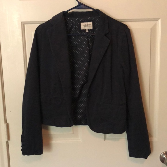 Hollister Jackets & Blazers - Navy Blazer